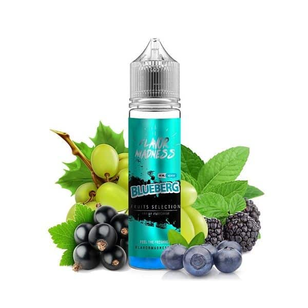 Lichid Tigara Electronica Flavor Madness Blueberg 40ml